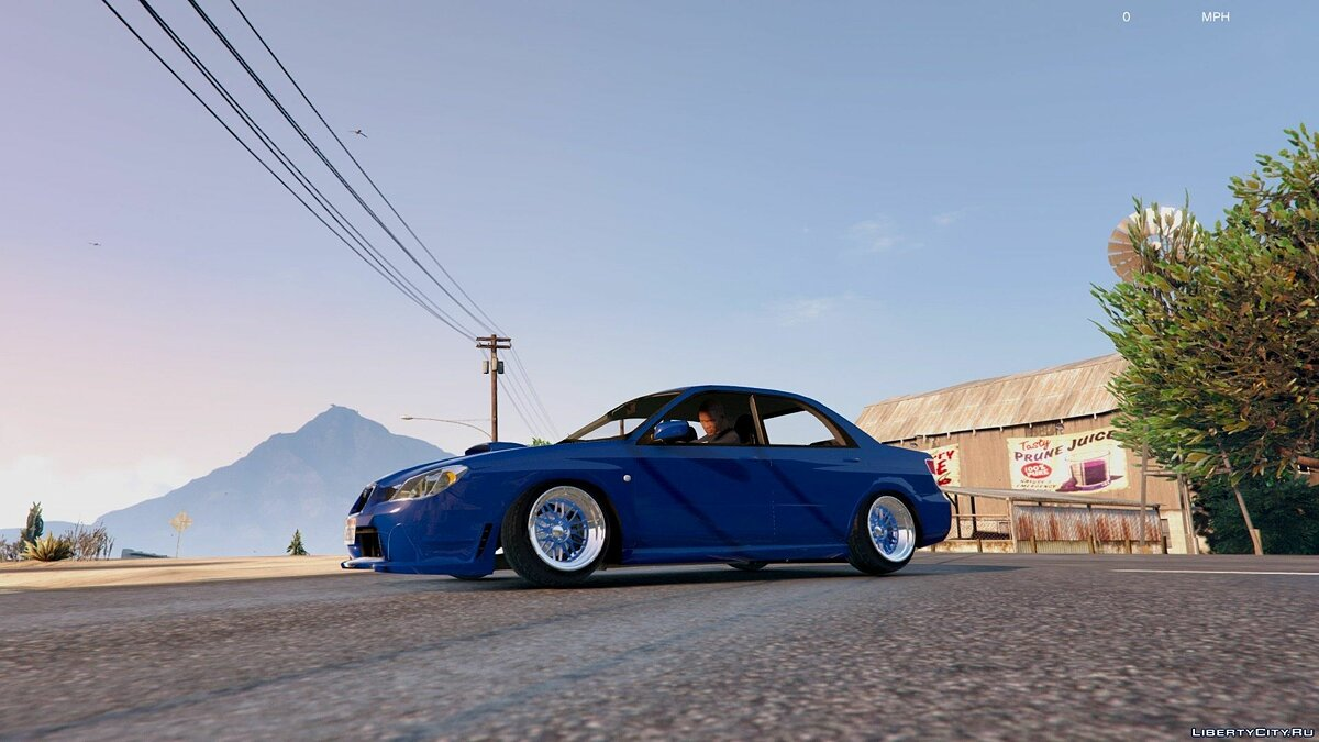 [Cambered] '06 Subaru WRX [Tuning / Add-On] v1.2 для GTA 5 - скриншот #3