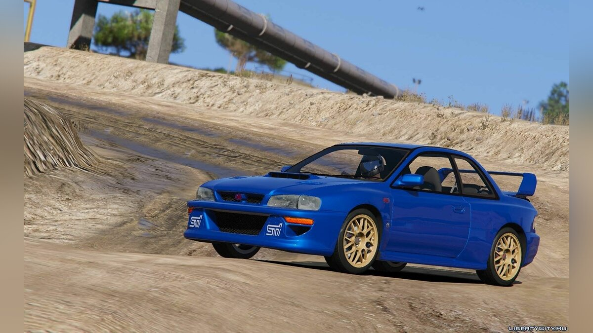 1998 Subaru Impreza 22B-STi Series I [Tuning | Add-On | HQ] 1.2 для GTA 5 - скриншот #2