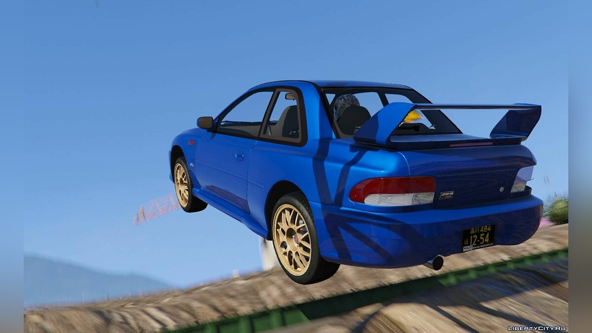 1998 Subaru Impreza 22B-STi Series I [Tuning | Add-On | HQ] 1.2 для GTA 5 - скриншот #3