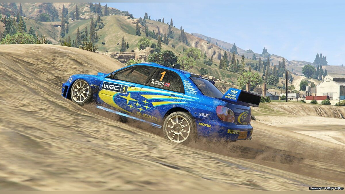 Subaru Impreza S11 WRC [Add-On | Livery] 1.4 для GTA 5 - скриншот #3