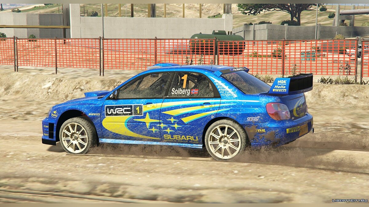 Subaru Impreza S11 WRC [Add-On | Livery] 1.4 для GTA 5 - скриншот #2