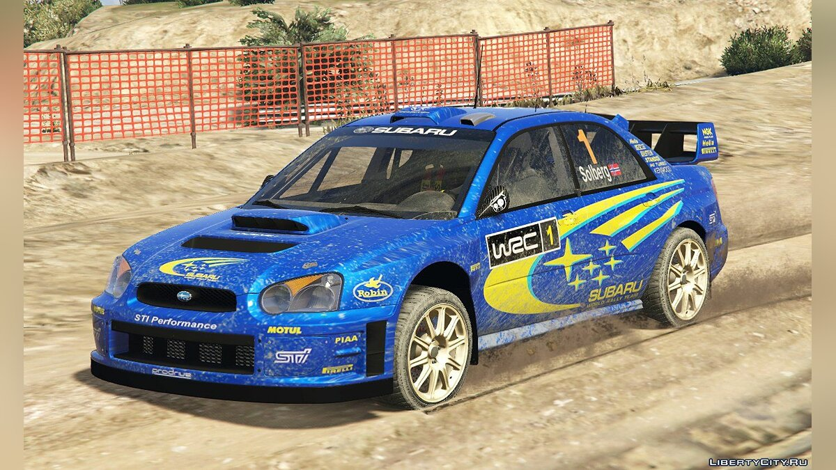 Subaru Impreza S11 WRC [Add-On | Livery] 1.4 для GTA 5