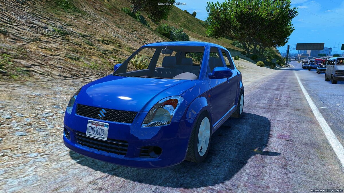 Машина Suzuki Suzuki Swift [Add-On / Replace] 1.0 для GTA 5