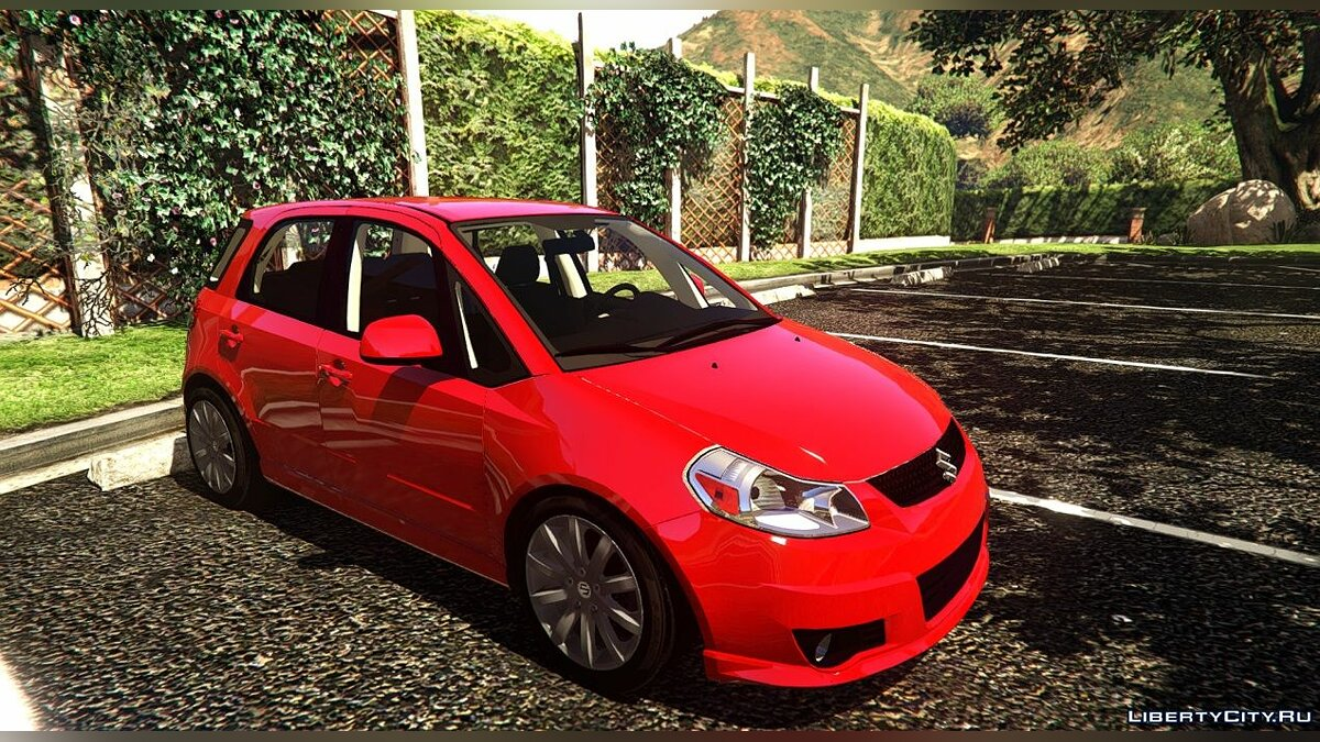 Машина Suzuki Suzuki SX4 Sportback [Add-On | LODs] 0.1 для GTA 5