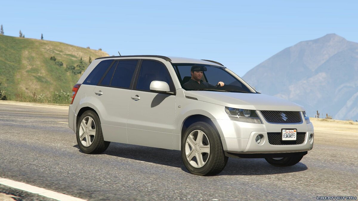 Машина Suzuki Suzuki Grand Vitara [Add-On / Replace] 1.1 для GTA 5