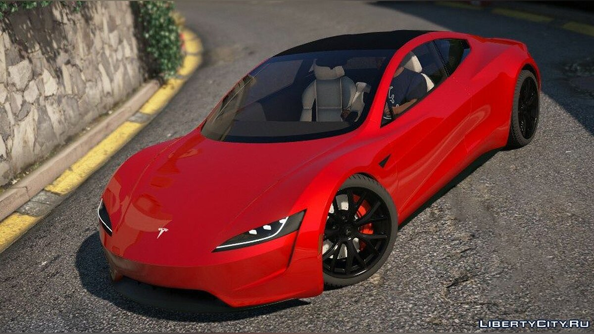 Машина Tesla Tesla Roadster 2020 [Add-On / Replace / Auto Spoiler] 1.1 для GTA 5