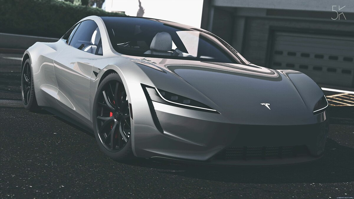Машина Tesla Tesla Roadster 2020 [Add-On / Replace / Auto Spoiler] 1.0 для GTA 5