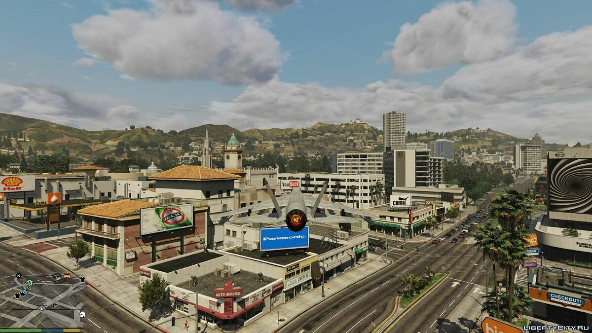 Real Billboards / Werbeplakate (Paleto Bay Update) для GTA 5 - скриншот #7