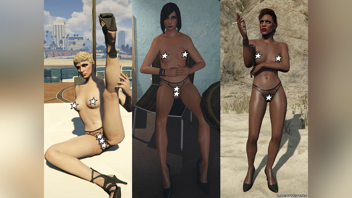Mofme's Texture Pack for Aephrosi's Nude Mods 1.3 (18+) для GTA 5