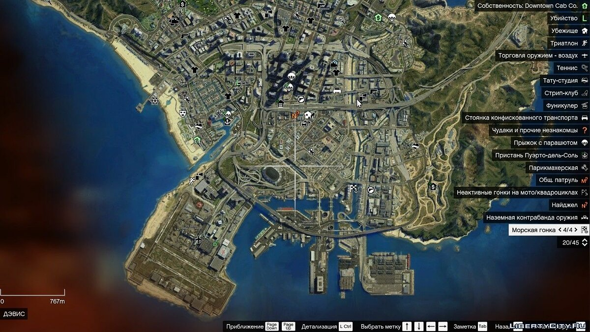 Satellite map HD v2.0 для GTA 5 - скриншот #2