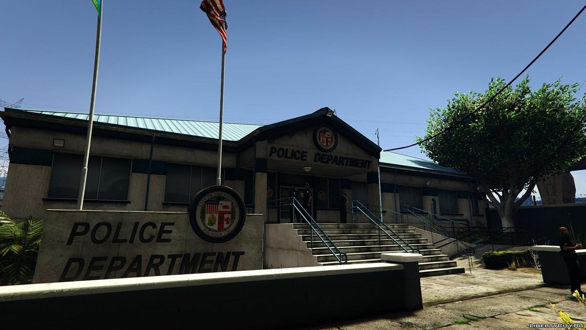 Real Police Stations 1.6 для GTA 5