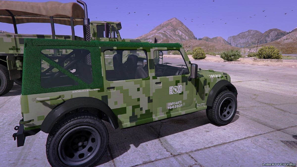 Mexican Army Textures для GTA 5