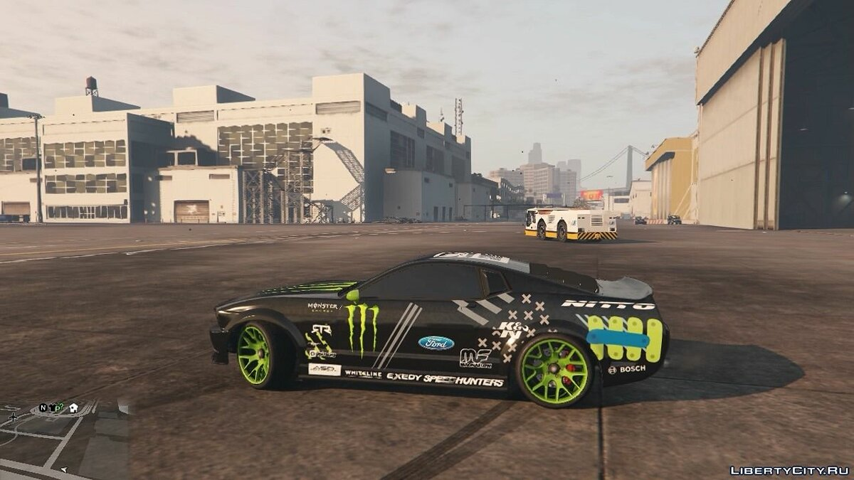 Monster Ford Mustang для GTA 5