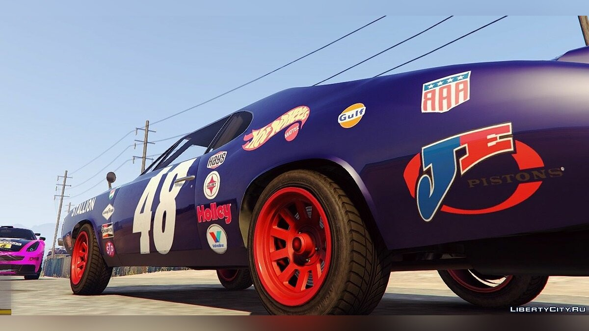 Plymouth Cuda Trans-Am livery for Stallion 4K для GTA 5 - скриншот #4