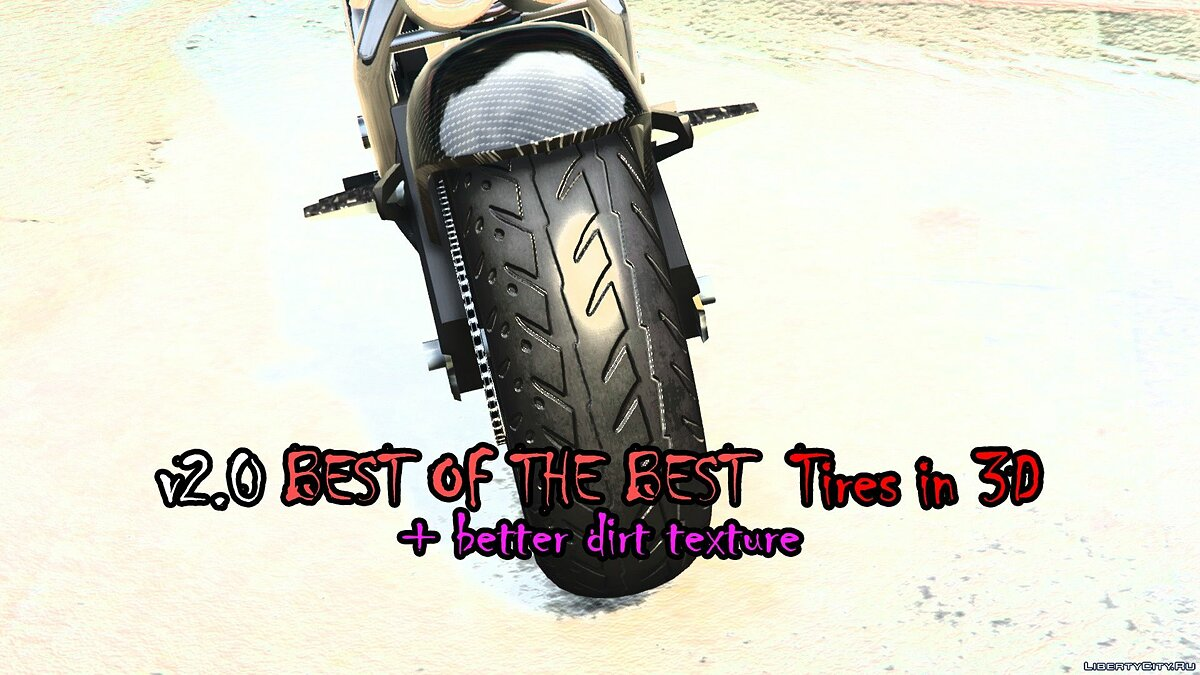 Текстурный мод Lord of Dirt & 'Skin' Devil & Tires (2K Textures) 3.0 для GTA 5