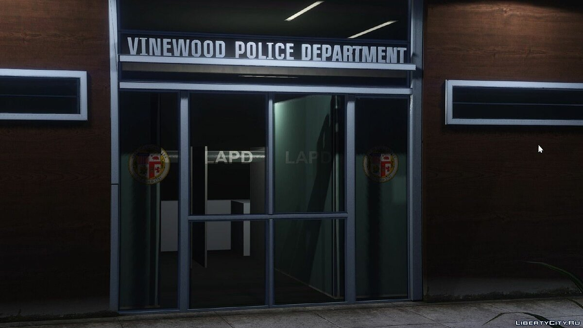 LAPD Hollywood Dept для GTA 5 - скриншот #3