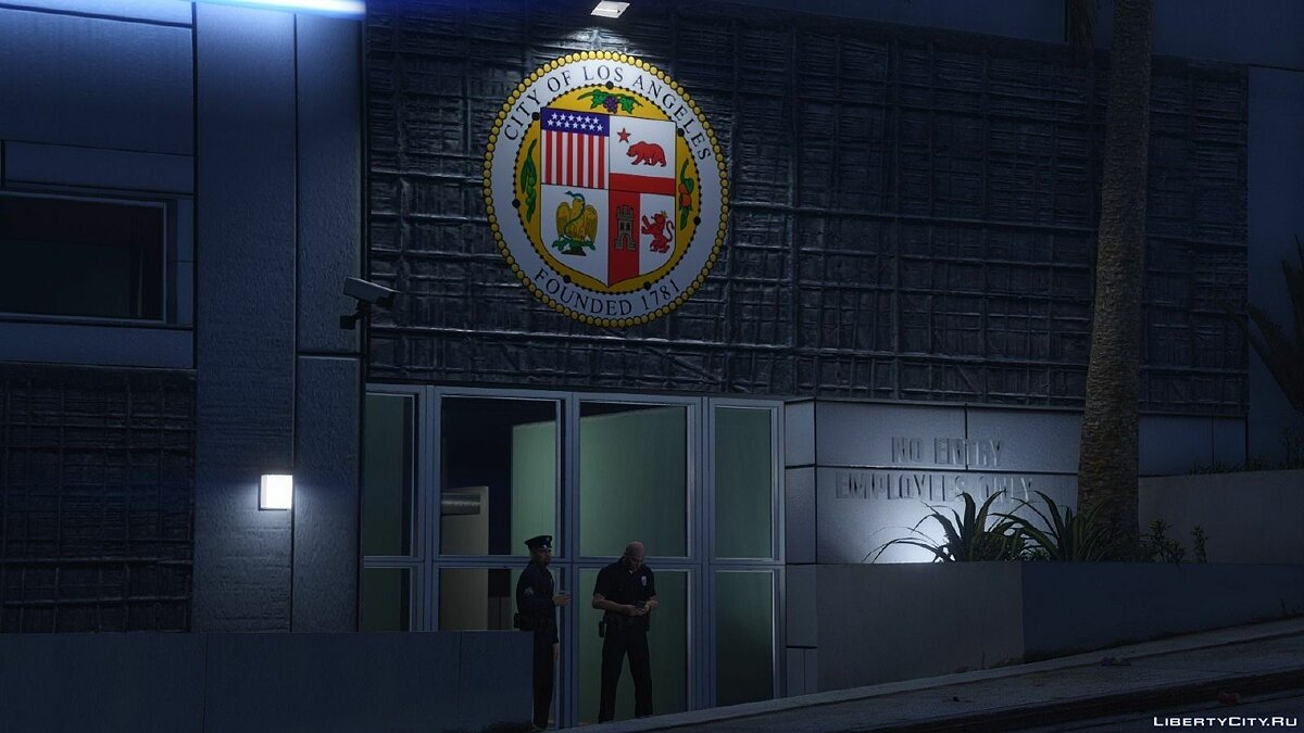 LAPD Hollywood Dept для GTA 5 - скриншот #4