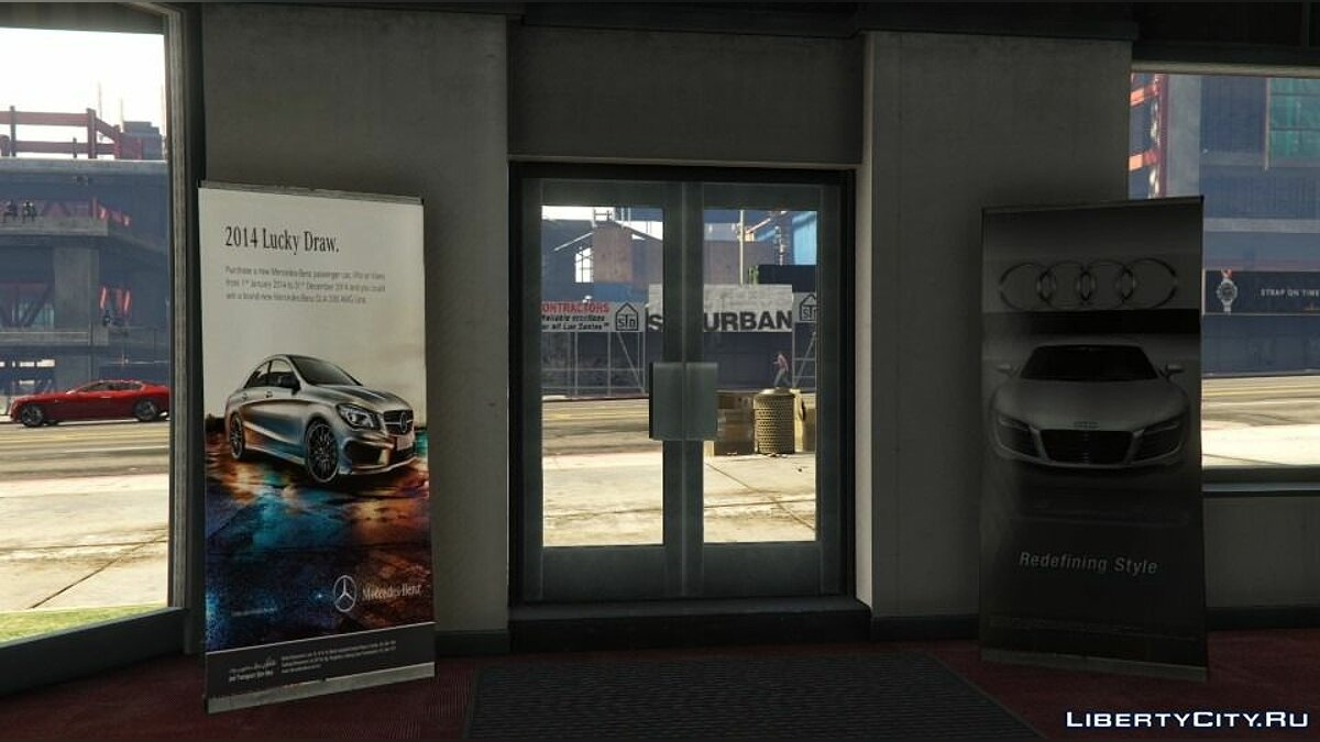 Simeons Car Dealership Retexture для GTA 5