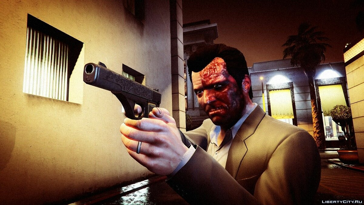 Двуликий / Two Face [Texture Mod] v1 для GTA 5 - Картинка #4