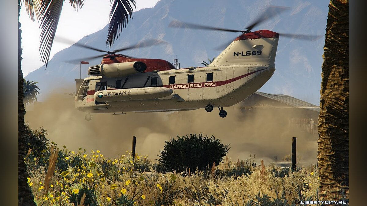 Helicopter Effects 1.34 для GTA 5
