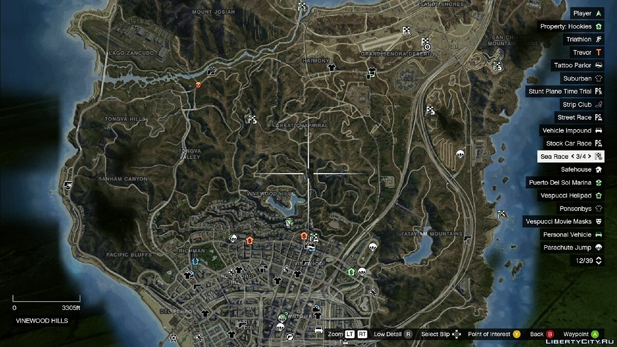 Satellite View Map для GTA 5 - скриншот #3