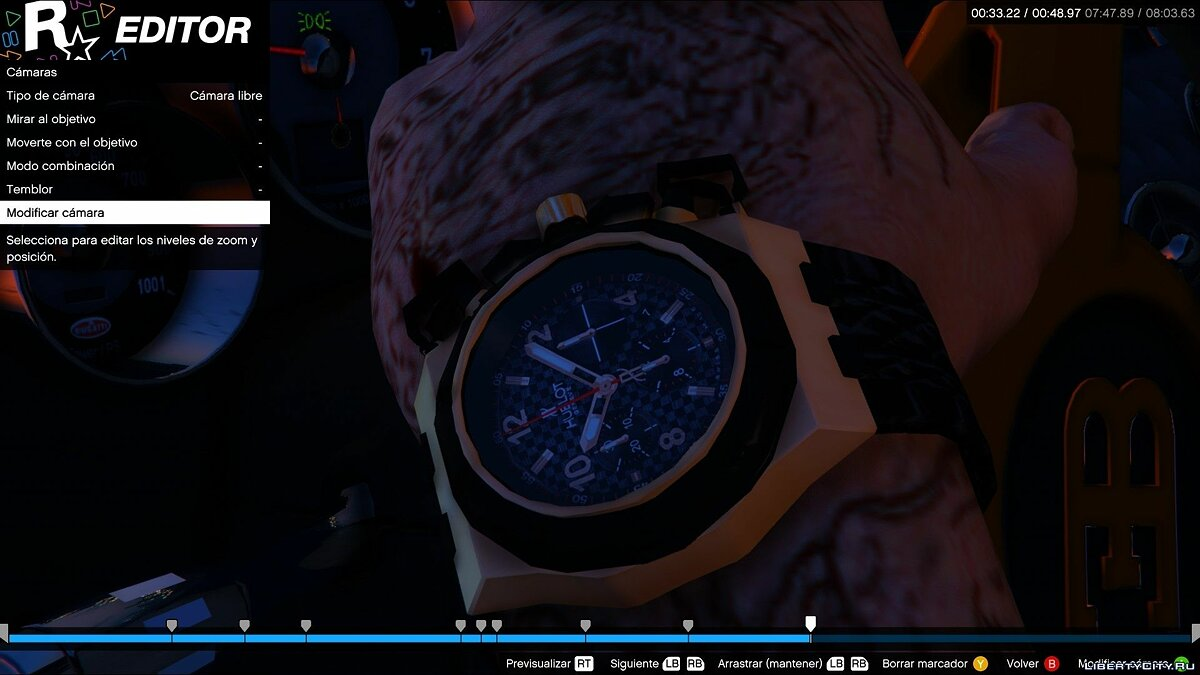 Real Watches 0.5 для GTA 5