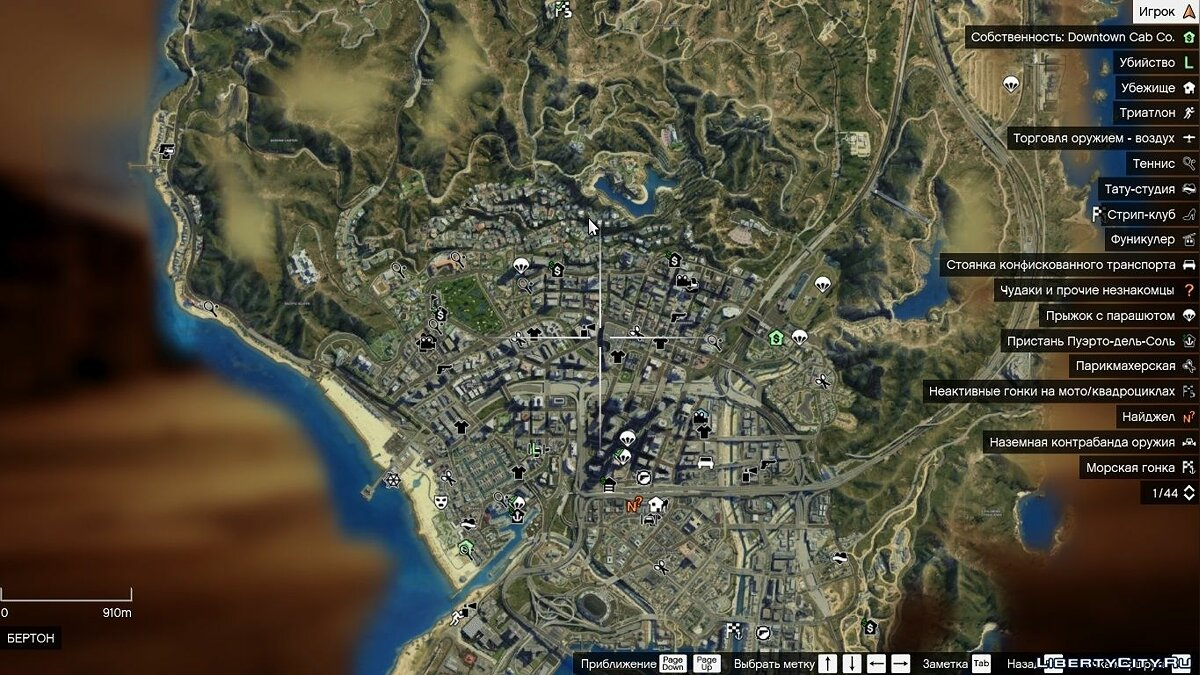 Satelite Map HD (with zoom) для GTA 5 - скриншот #2