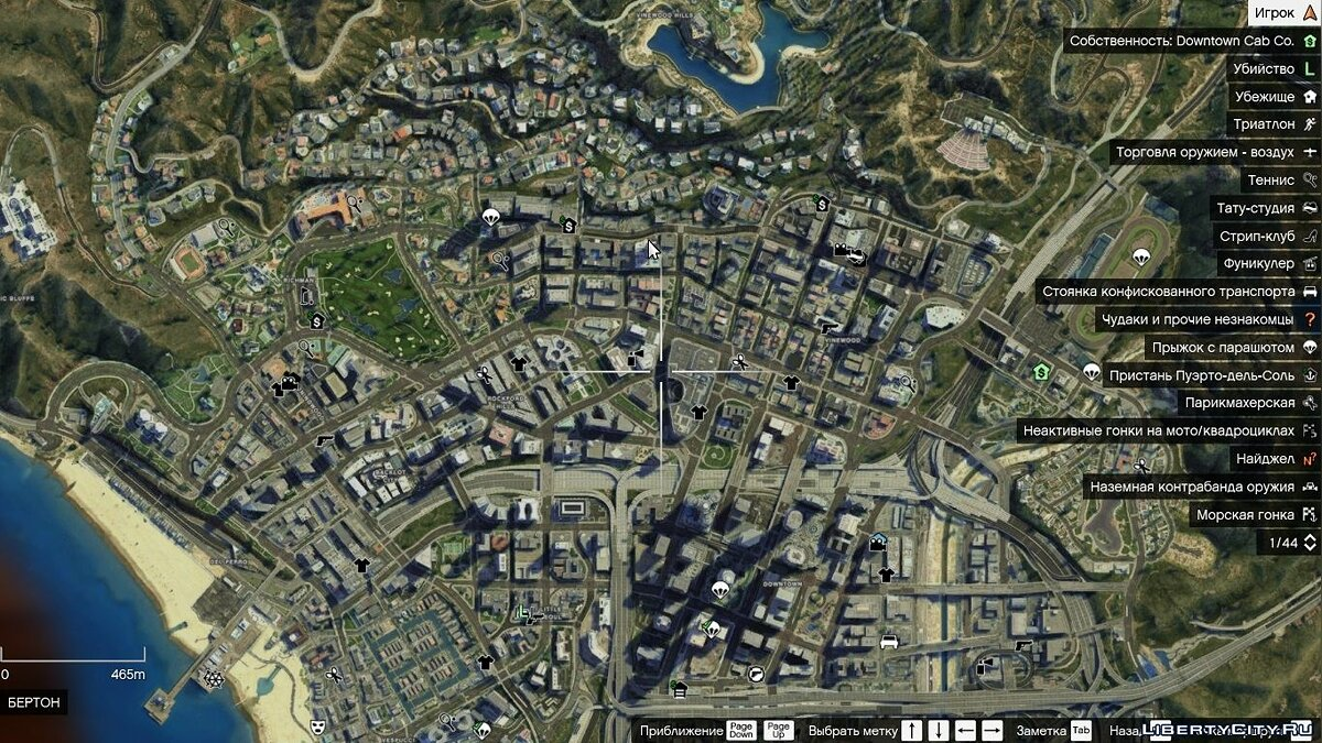 Satelite Map HD (with zoom) для GTA 5 - скриншот #3