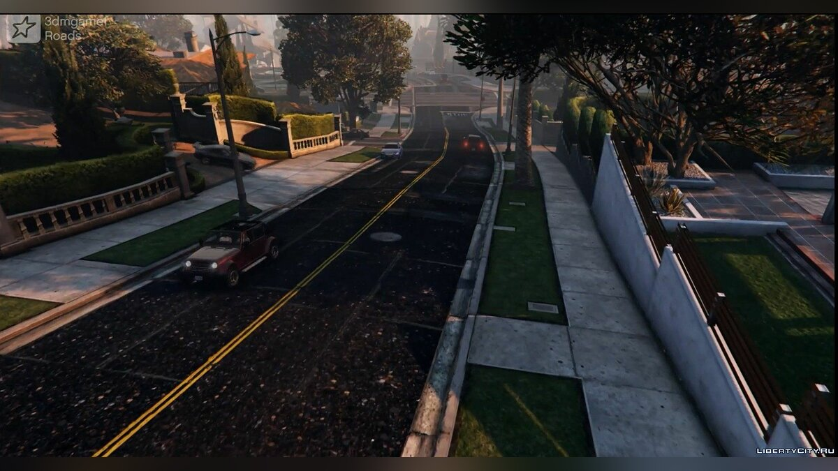 New Road Texture (Highways + Other Areas) 1.0 для GTA 5