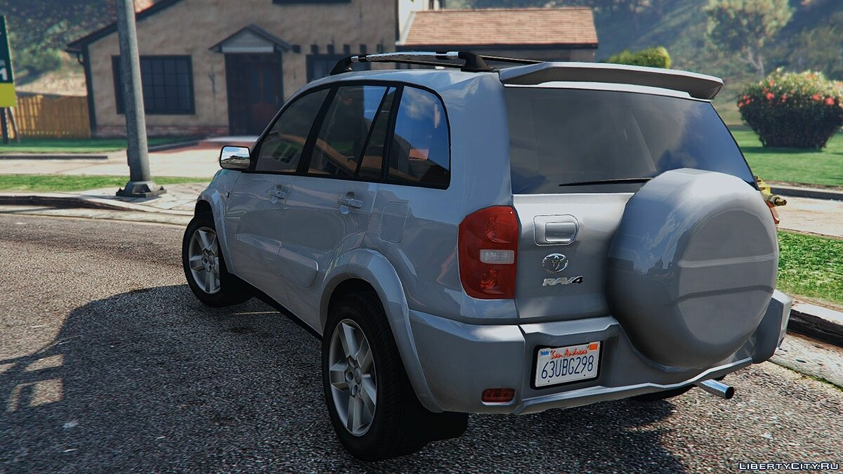 Машина Toyota Toyota RAV4 (XA20) [Add-On / Replace] 1.0 для GTA 5