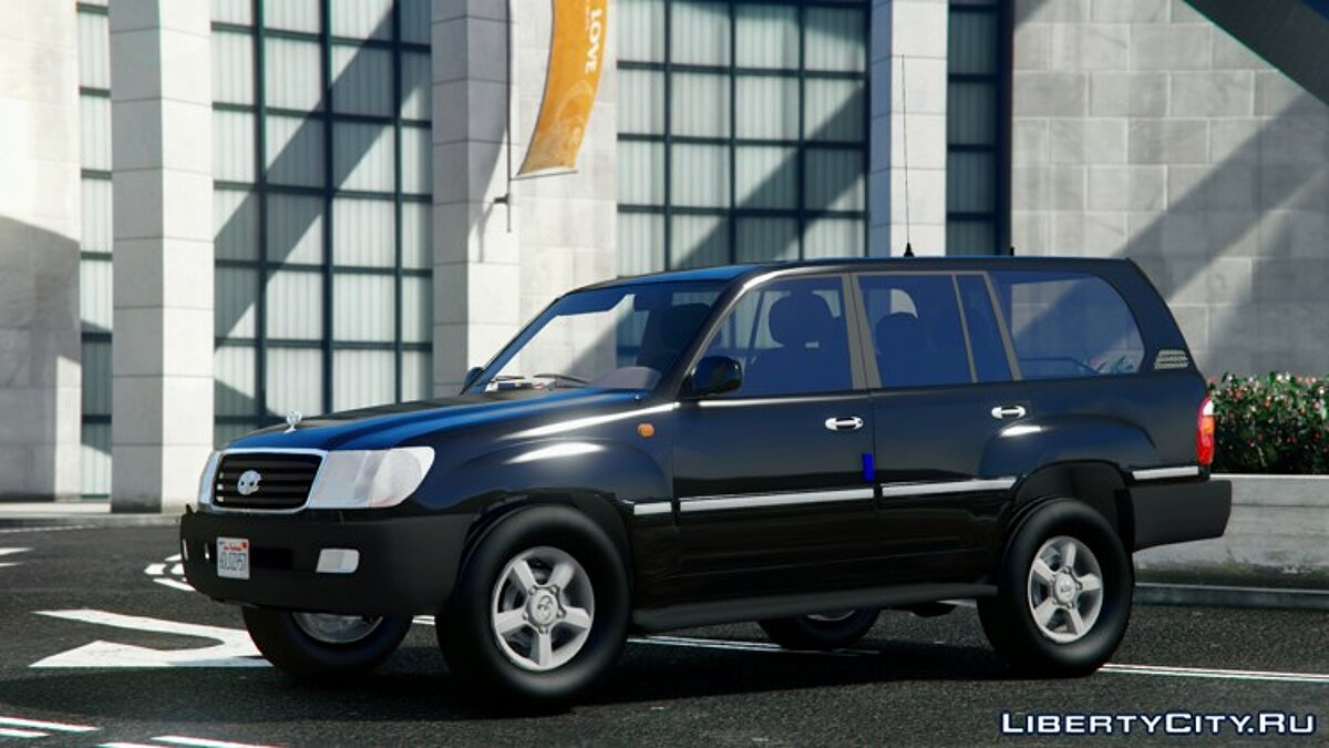 2002 Toyota Land Cruiser GX [BETA] для GTA 5