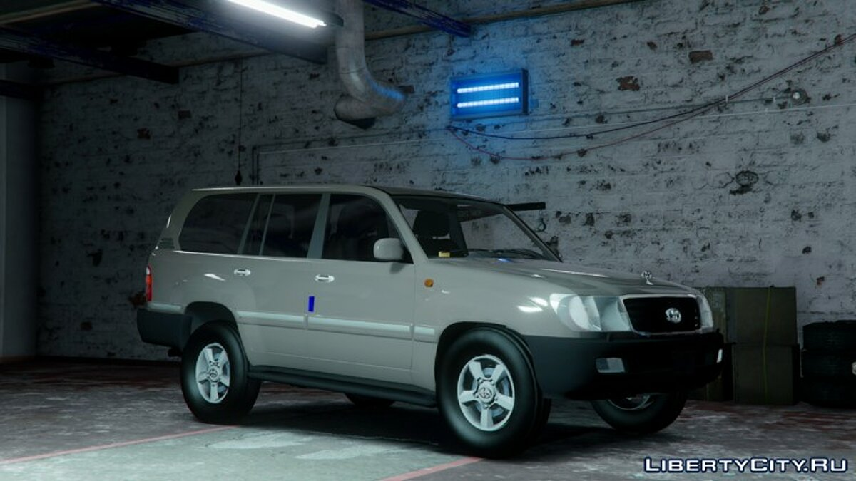 2002 Toyota Land Cruiser GX [BETA] для GTA 5 - скриншот #3