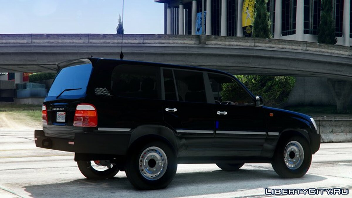 2002 Toyota Land Cruiser GX [BETA] для GTA 5 - скриншот #4