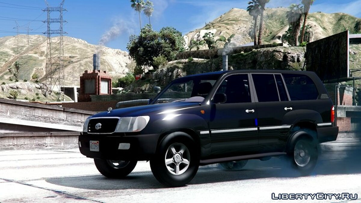 2002 Toyota Land Cruiser GX [BETA] для GTA 5 - скриншот #5
