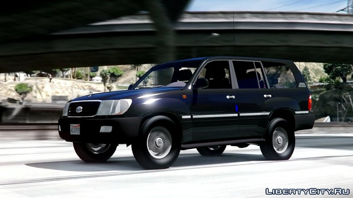 2002 Toyota Land Cruiser GX [BETA] для GTA 5 - скриншот #7