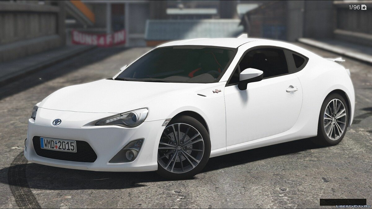 Машина Toyota Toyota GT86 [Add-On / Replace | Tunable | HQ] 1.2 для GTA 5