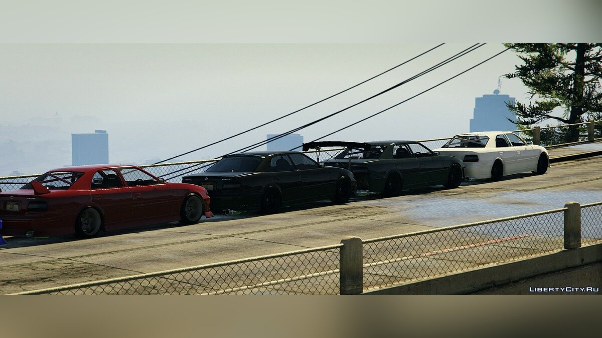 Toyota Chaser JZX100 [Add-On / Replace | Tuning | RHD | Cambered | Non-Cambered | HQ 1.0 для GTA 5 - скриншот #2
