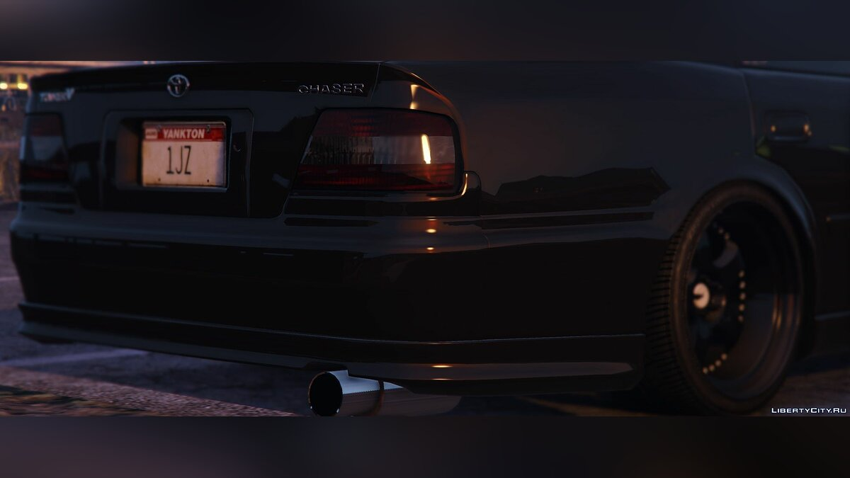 Toyota Chaser JZX100 [Add-On / Replace | Tuning | RHD | Cambered | Non-Cambered | HQ 1.0 для GTA 5 - скриншот #3