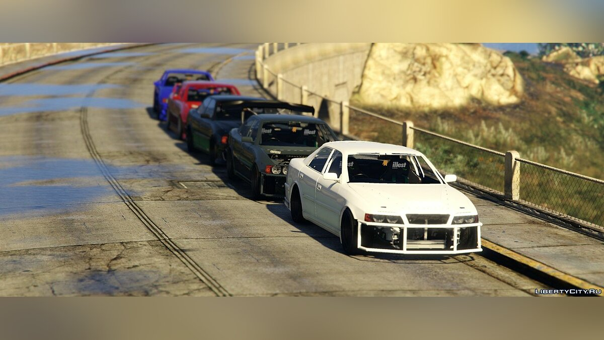 Toyota Chaser JZX100 [Add-On / Replace | Tuning | RHD | Cambered | Non-Cambered | HQ 1.0 для GTA 5 - скриншот #4