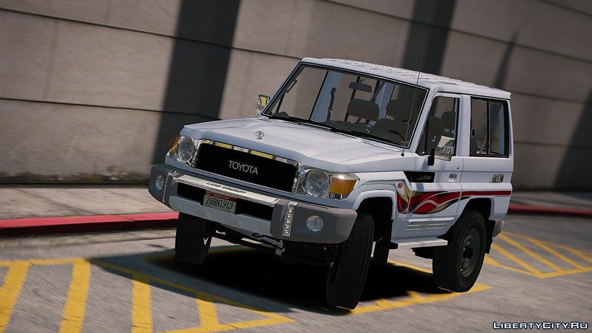 2017 Toyota Land Cruiser V6 Machito [ Add-on / Replace / Extras ] 1.1 для GTA 5