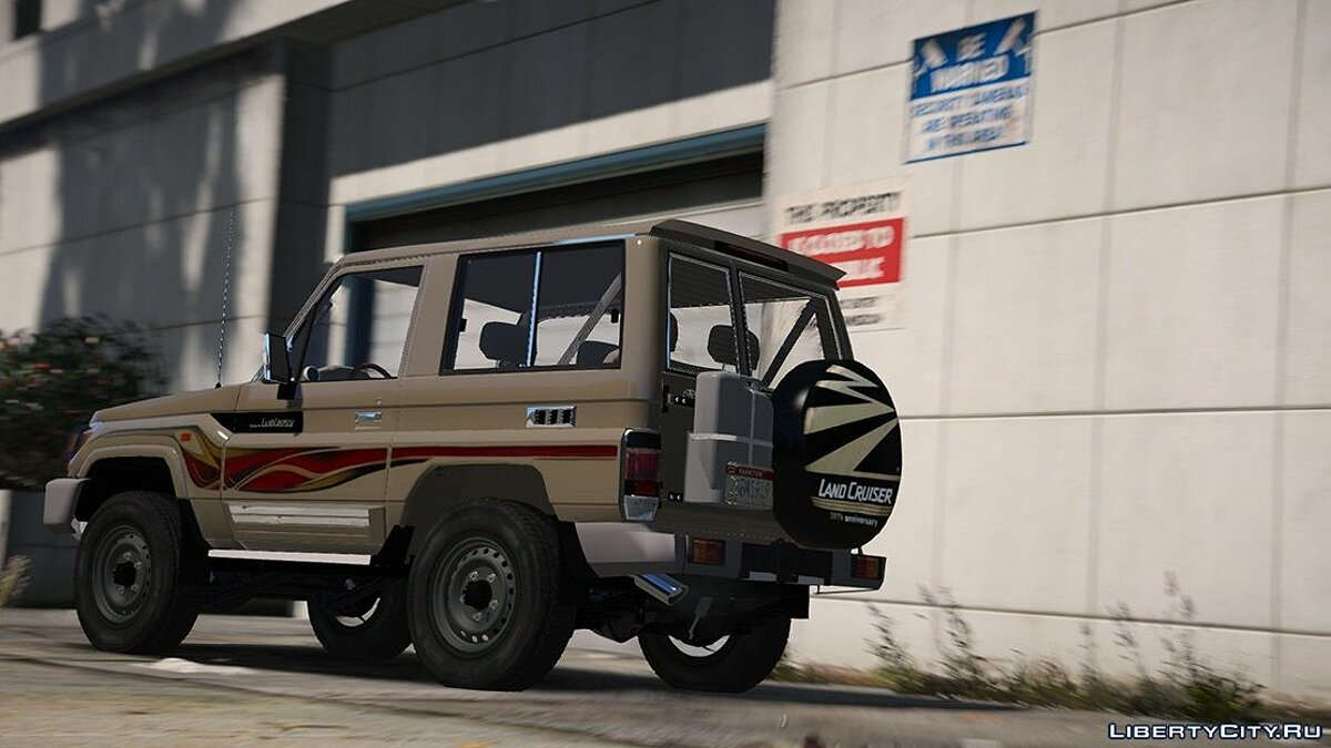 2017 Toyota Land Cruiser V6 Machito [ Add-on / Replace / Extras ] 1.1 для GTA 5 - скриншот #5