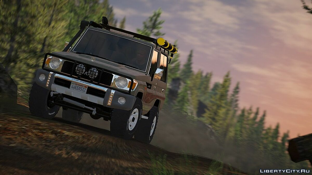 2017 Toyota Land Cruiser V6 Machito [ Add-on / Replace / Extras ] 1.1 для GTA 5 - скриншот #9