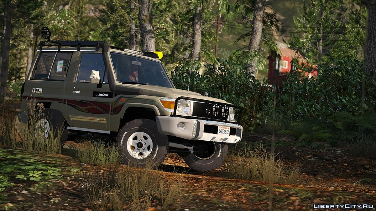 2017 Toyota Land Cruiser V6 Machito [ Add-on / Replace / Extras ] 1.1 для GTA 5 - скриншот #10