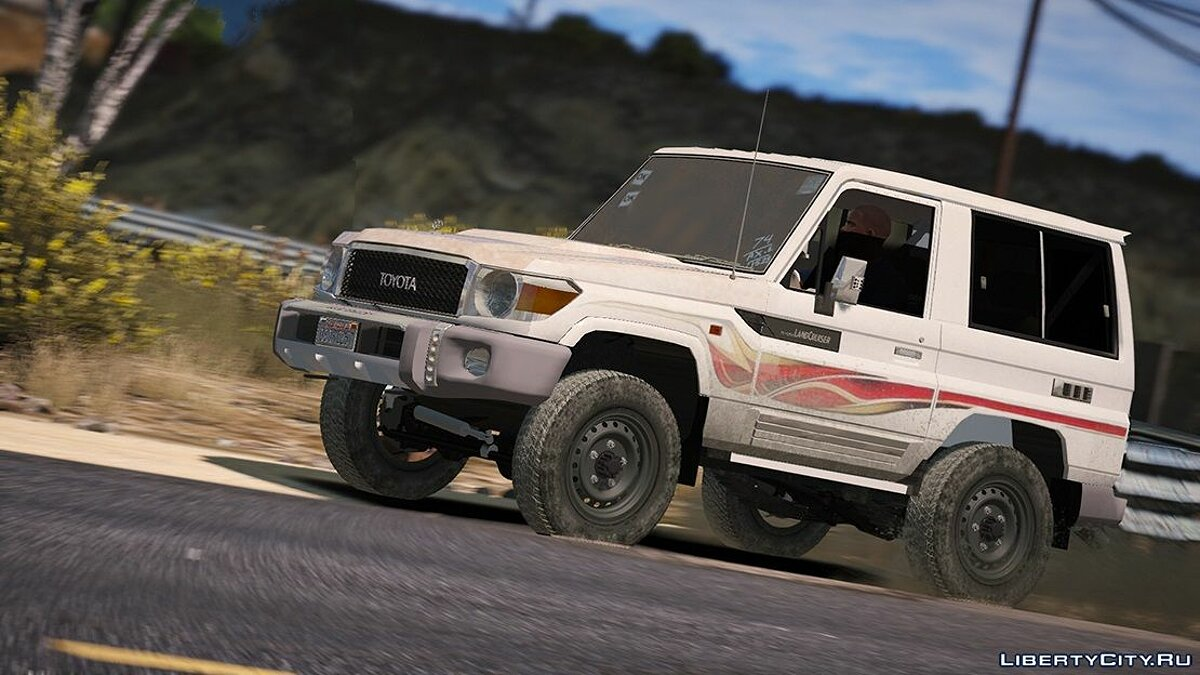 2017 Toyota Land Cruiser V6 Machito [ Add-on / Replace / Extras ] 1.1 для GTA 5 - скриншот #12