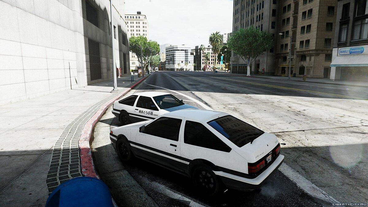 Машина Toyota 1985 Toyota Sprinter Trueno GT Apex (AE86) [Add-On / Replace | Tuning | Template | Livery | RHD] 8.0 для GTA 5