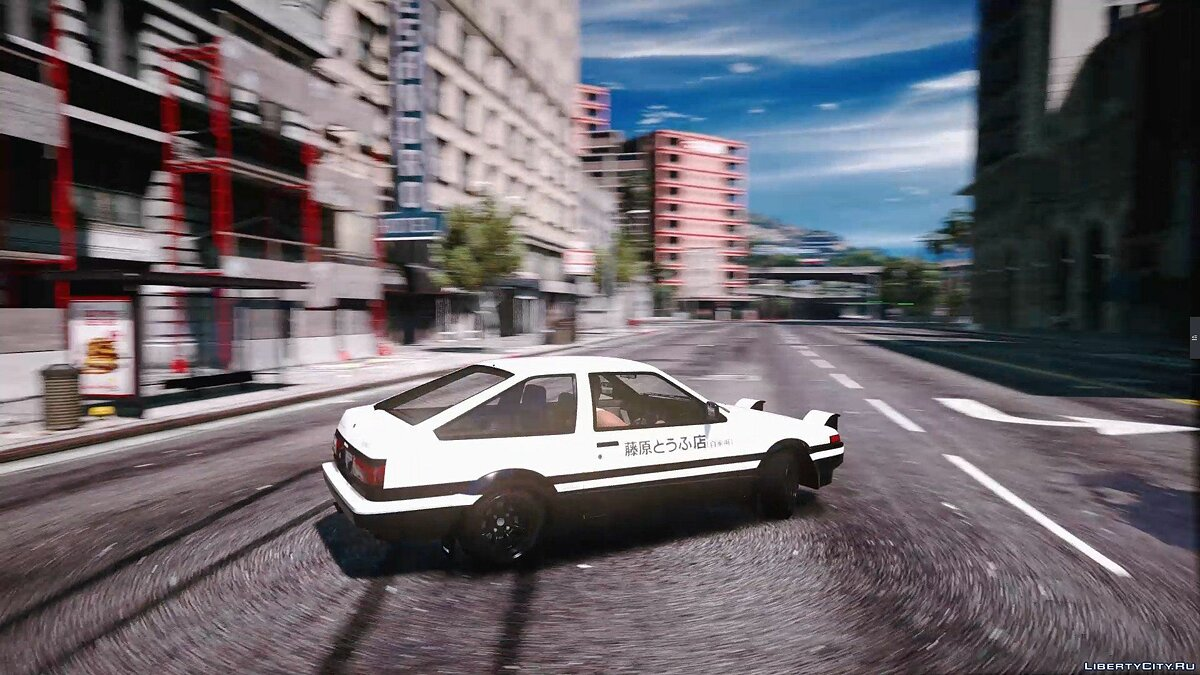 1985 Toyota Sprinter Trueno GT Apex (AE86) [Add-On | Tuning | Template | Livery | RHD] 9.9 для GTA 5
