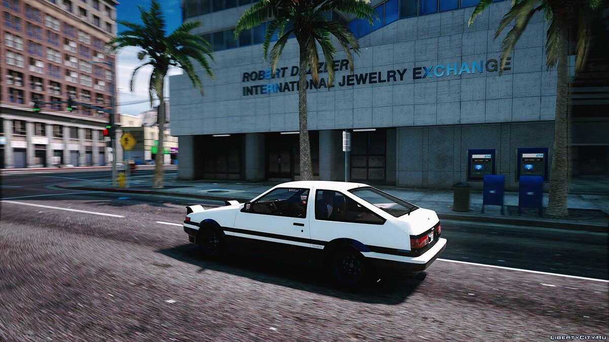 1985 Toyota Sprinter Trueno GT Apex (AE86) [Add-On | Tuning | Template | Livery | RHD] 9.9 для GTA 5 - скриншот #3