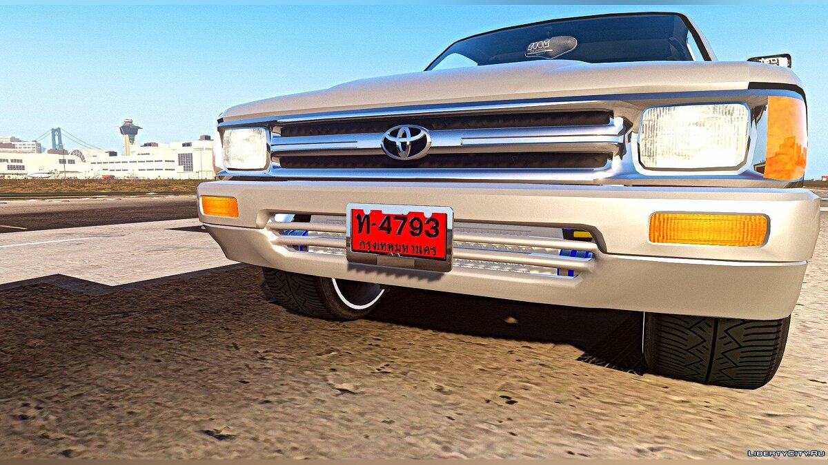 Toyota Hilux Mighty-x [Replace] v1.0 для GTA 5 - скриншот #7