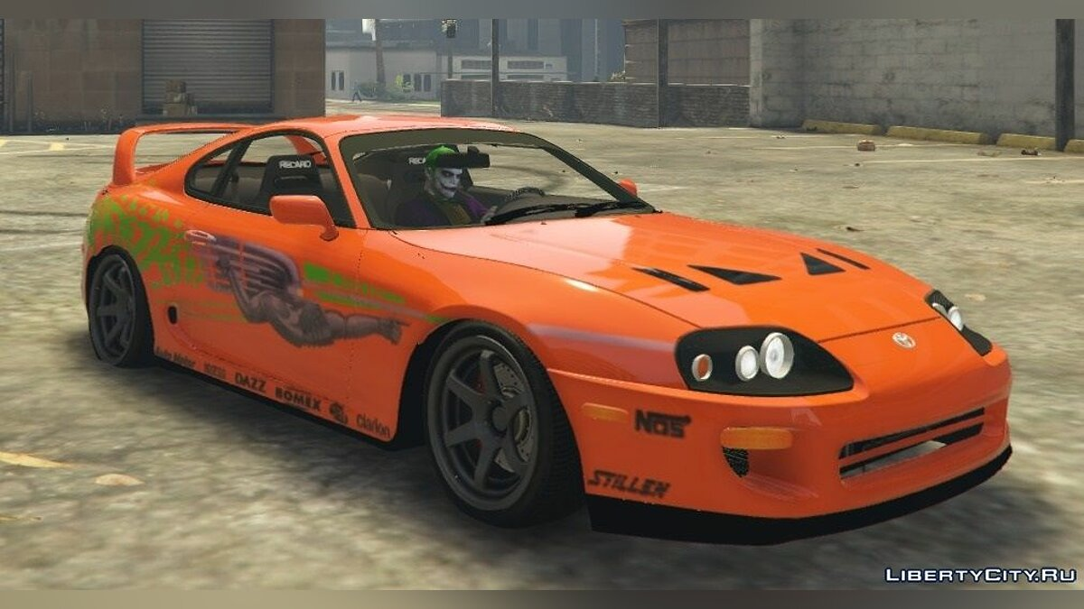 Toyota Supra Paul Walker (Fast and Furious) Paintjob 0.5 BETA! для GTA 5 - Картинка #1