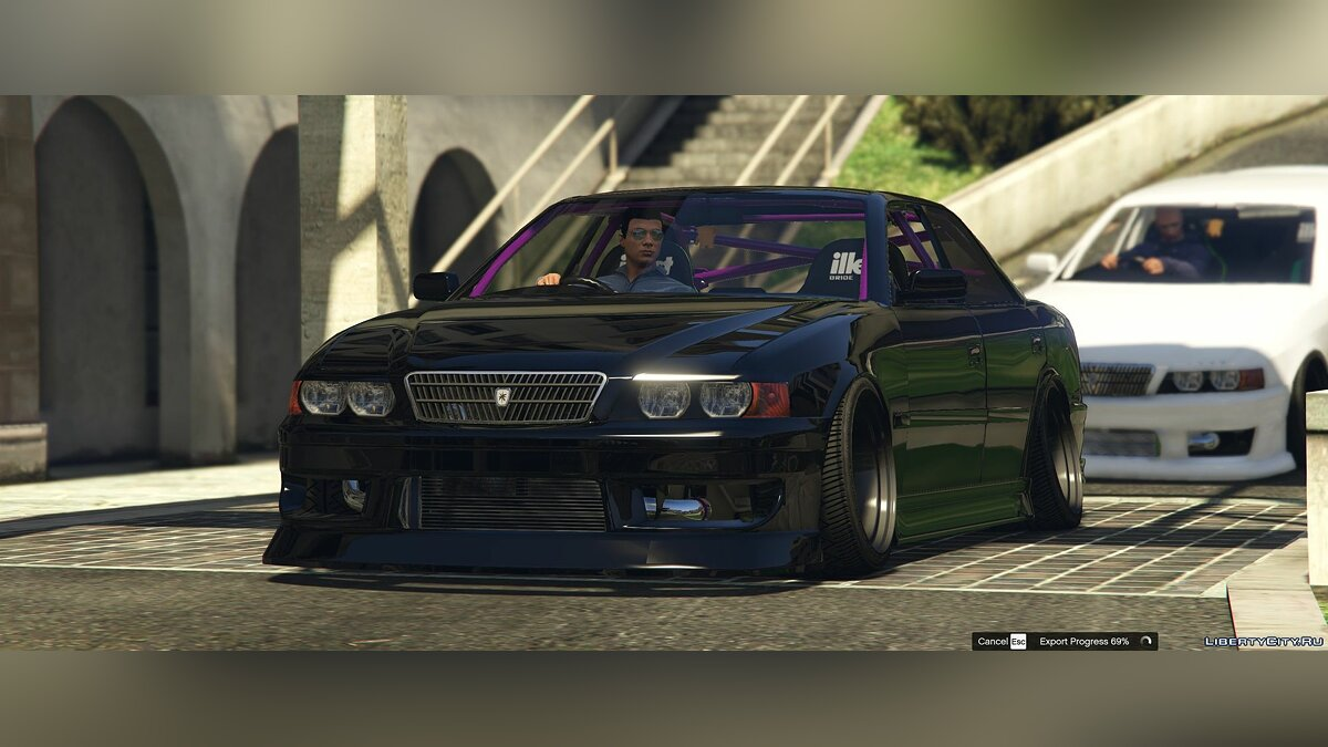 Toyota Chaser JZX100 [Add-On / Replace | Tuning | RHD | Cambered / Non-Cambered | HQ 1.1 для GTA 5 - скриншот #2